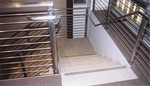 Terrazzo flooring and concrete flooring experts arcadian for Pre built stairs interior